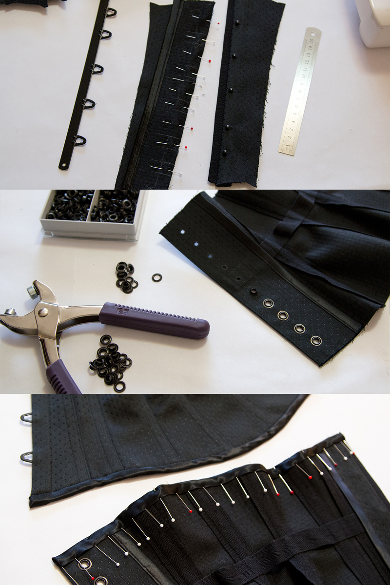 Making the corset