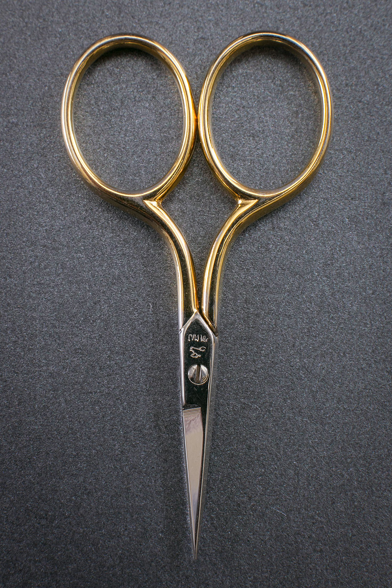 Tiny Gold Embroidery Scissors