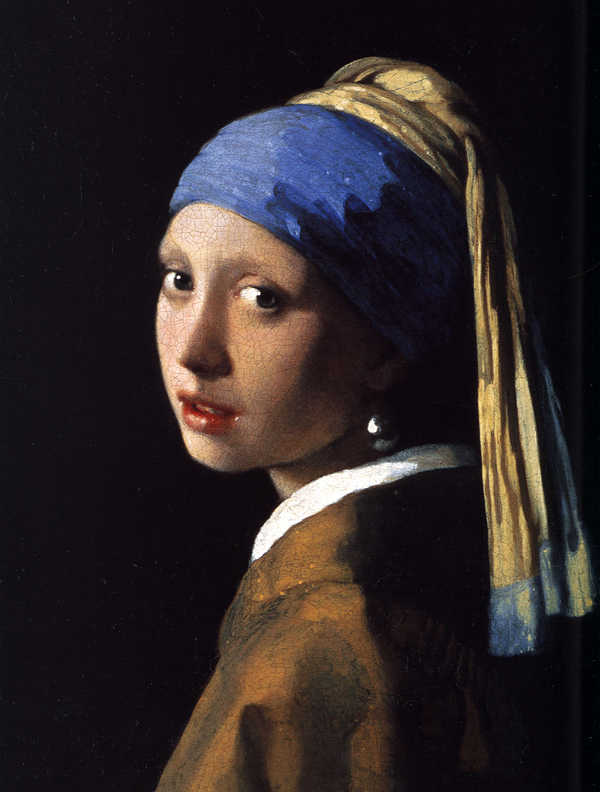 Girl with a Pearl Earring, Vermeer c 1667