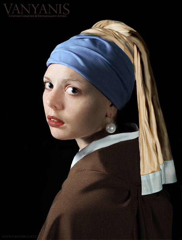 Girl with a Pearl Earring, Mark Boyle c 2008
