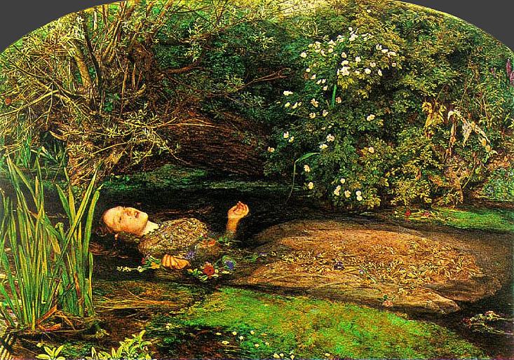 Ophelia, John Millais, 1851-1852