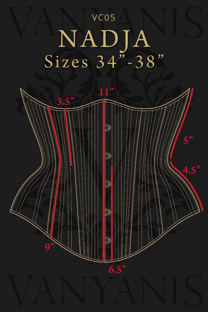 Nadja-corset-specs-front-34-38