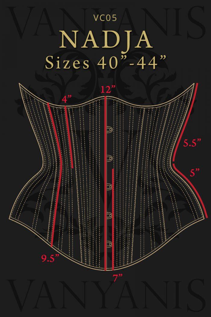 Nadja-corset-specs-front-40-44