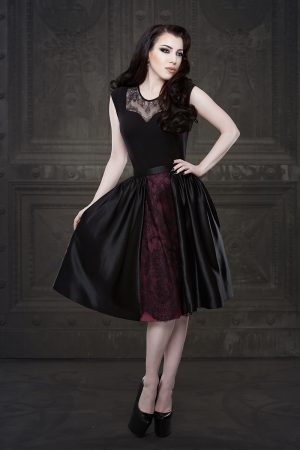 Ebonique Collection by Vanyanis. Model: Threnody in Velvet © Iberian Black Arts